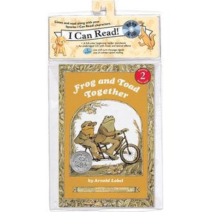FROG AND TOAD TOGETHER (LEVEL 2) (CD付き絵本)/洋書絵本/ふたりはいっしょ asukabc-online