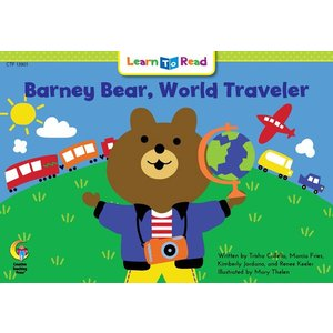 BARNEY BEAR. WORLD TRAVELER/洋書...