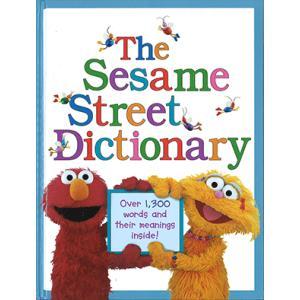 絵辞典:SESAME STREET DICTIONARY/セサミストリートの英語辞書/洋書