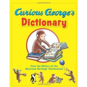 絵辞典:CURIOUS GEORGE'S DICTIONARY/おさるのジョージの英語辞書/洋書