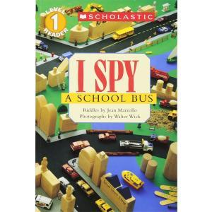 I SPY A SCHOOL BUS/ミッケ:スクールバス/洋書/絵本/多読|asukabc-online