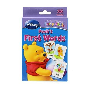 Pooh's First Words プーさんの初めての英単語/フラッシュカード|asukabc-online