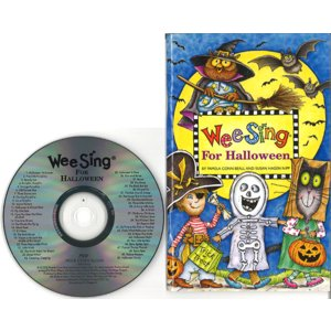 WEE SING FOR HALLOWEENAND FINGERPLAYS(BOOK&CD)