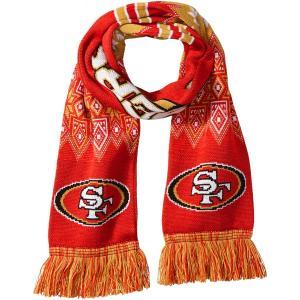 サンフランシスコ・49ers/マフラー/NFL Scarf/San Francisco 49ners/フォーティナイナーズ asukabc-online