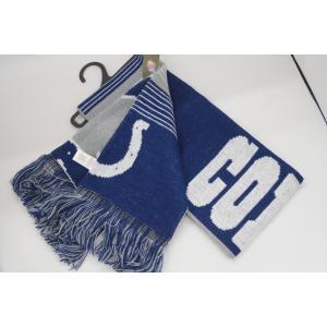 インディアナポリス・コルツ/マフラー/NFL Split Logo Scarf/Indianapolis Colts|asukabc-online|03