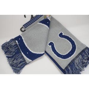 インディアナポリス・コルツ/マフラー/NFL Split Logo Scarf/Indianapolis Colts|asukabc-online|04