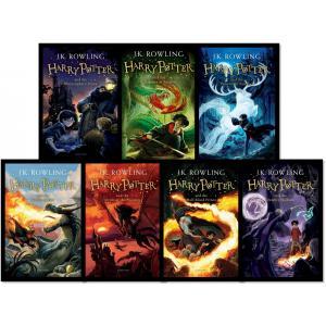 洋書版「ハリー・ポッター」を全巻まとめて販売!!  ●著者 J.K ローリング  ●洋書 ハリーポッ...