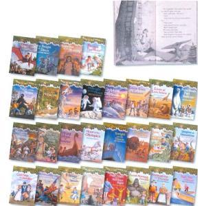 ◆アメリカの子供たちに大人気のシリーズ 毎回どこへ行くのかハラハラドキドキ、ふたりの兄妹の冒険から目...