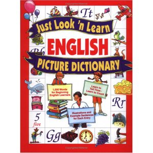 英語絵辞典:JUST LOOK 'N LEARN ENGLISH PICTURE DICTIONARY/洋書|asukabc-online
