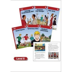レベル8/各32ページ/6冊セット/CD2枚付き  修学旅行での淡い恋、将来に関する親との衝突など、...