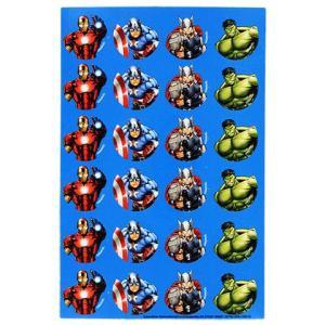 アベンジャーズ・キャラクターステッカー 96枚/MARVEL AVENGERS STICKERS/アイアンマン キャプテンアメリカ ハルク|asukabc-online