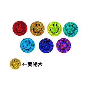 スマイルステッカー COLORFUL SPARKLE SMILES/英語ステッカー/ニコニコシール|asukabc-online