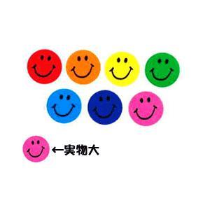 スマイルステッカー COLORFUL SMILES/英語シール/ニコニコシール|asukabc-online