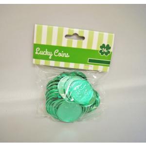 セントパトリック柄のコイン COIN/緑・グリーン/Get Lucky!|asukabc-online