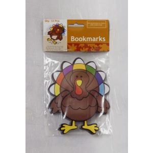七面鳥のしおり(ブックマーク)/Turkey Bookmarks/サンクスギビング asukabc-online
