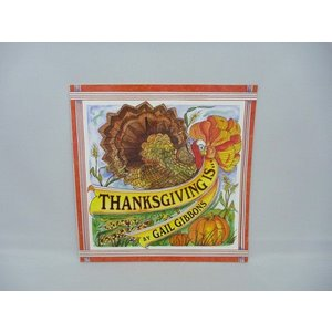 THANKSGIVING IS... by Gail Gibbons(絵本) asukabc-online
