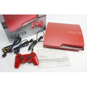 【中古】 (320GB) (CECH-3000BSR) 本体 PS3 PlayStation 3 スカーレット・レッド 【送料無料】