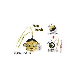 阪神タイガースのマスコットキャラクター「トラッキー」のパスポーチです。ICカード・乗車券・小物などを...