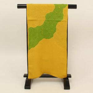 【あすつく】 振袖用 銀通し ちりめん 絞り 帯揚げ coa3219 asukaya