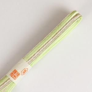【あすつく】紐の渡敬謹製 双大和白金撚り房 帯締め フォーマル用に coj7955|asukaya