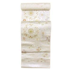 精緻縫い 祈繍工芸 汕頭(スワトウ)蘇州刺繍 レース刺繍 袋帯 fo2916 |asukaya