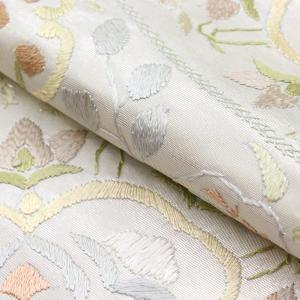 精緻縫い 祈繍工芸 汕頭(スワトウ)蘇州刺繍 レース刺繍 袋帯 fo2916 |asukaya|04
