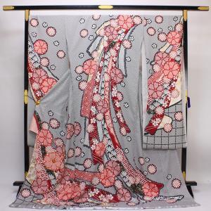 【お仕立て付き】総絞り 金駒刺繍 振袖 fs131|asukaya