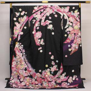 【お仕立て付き】名門 吉澤織物 金通し 金駒刺繍 振袖 「吉澤の友禅」 fs275|asukaya