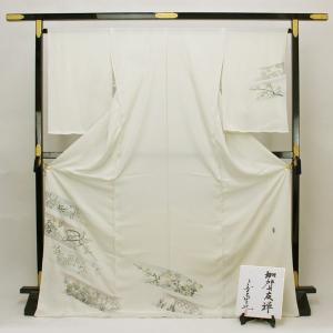 ◆本加賀友禅◆ 浜ちりめん 日本の絹印 訪問着 作家 宮野勇造 「琳派の響き」 hm1952|asukaya