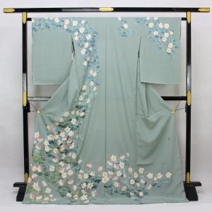 本加賀友禅 杉浦伸 作 「四季の花」 訪問着 hm1953|asukaya