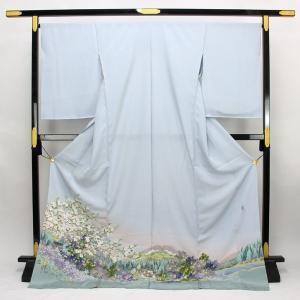 ◆本加賀友禅◆ 伝統工芸品 色留袖 横山秀一 作 「五箇山」  hm1960 asukaya