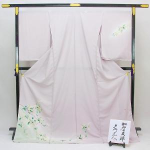 【袷のお仕立て付き】伝統工芸品 本場 加賀友禅 訪問着 多崎元人 作 「姫うつぎ」 hm2006|asukaya