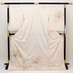 【袷のお仕立て付き】皇室作家 藤井寛 最高級訪問着 金彩加工 「景勝歓苑」 hm2029|asukaya
