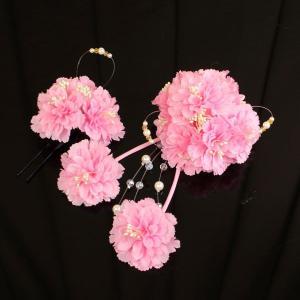 【あすつく】振袖に 髪飾り 大小 2個セット kz120|asukaya