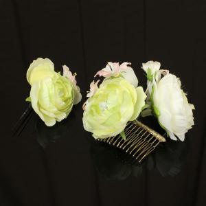 【あすつく】振袖に 髪飾り 大小 2個セット kz146|asukaya