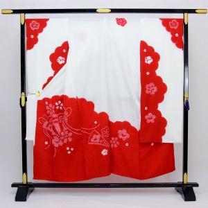 ◆新品 未仕立て 絹100% ◆小松ちりめん(桶絞り) ◆サイズ 裁ち切り丈 約 136cm、裄 約...