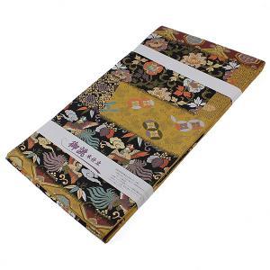 【お仕立て上がり】 西陣 京洛苑たはら謹製  袋帯 「唐三彩萌黄草木染」pt2079|asukaya
