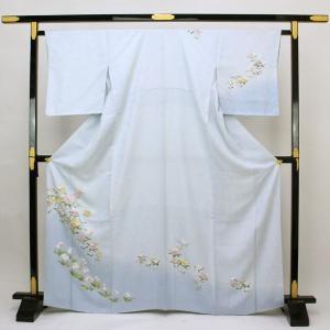 【お仕立て上がり】正絹胴裏 紋綸子 訪問着  M寸 pt2544|asukaya