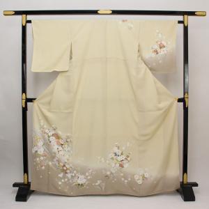 【お仕立て上がり】正絹胴裏 友禅 訪問着 お茶席に M寸 pt2553|asukaya