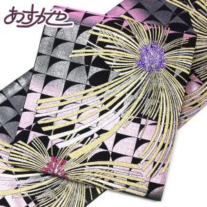 【お仕立て上がり】振袖用 西陣織 佐々木染織 袋帯 金糸 pt3111|asukaya