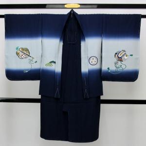 【お仕立て上がり】七五三用 正絹 羽織 晴れ着 五歳男子用 pt3250 asukaya 02