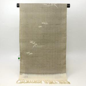 【夏物 お仕立て付き】単衣用 紬 着尺 t1958 asukaya