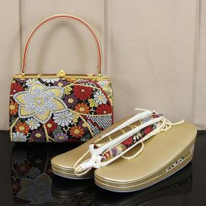 皇室ご用達取り扱い品メーカー 菊之好 ≪きくのこのみ≫ 草履バッグ セット Mサイズ/Lサイズ zb2324-2325|asukaya