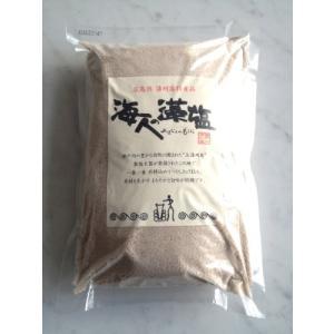 【送料無料】海人の藻塩 1kg【在庫限り】