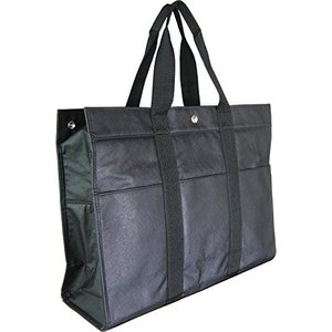 【送料無料】開明 トートバッグ 大容量 黒 HO1614【在庫限り】
