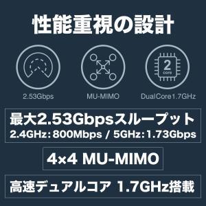 Synology 高機能無線ルーター 800Mbps + 1,733Mbps(11a/b/g/n/ac対応) 高セキュリティ VPN Plu