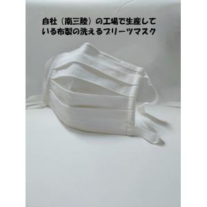 マスク 洗えるプリーツマスク(2枚入り) 南三陸製造|asutoro