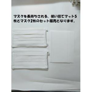 マスク 洗えるプリーツマスク(2枚入り) 南三陸製造|asutoro|12