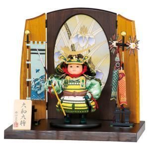 五月人形 豊久 伊達政宗 子供大将飾り 武者人形 平飾り 大和大将 伊達 h025-mo-503265 GE-066 asutsuku-ningyoya