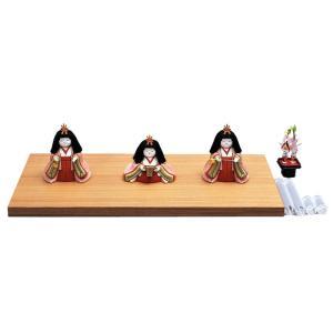 雛人形 幸一光 ひな人形 コンパクト 雛 木目込人形飾り 官女単品 光雲用 官女セット 目入頭 正絹 アクリル足付飾台付属 h033-koi-4333|asutsuku-ningyoya